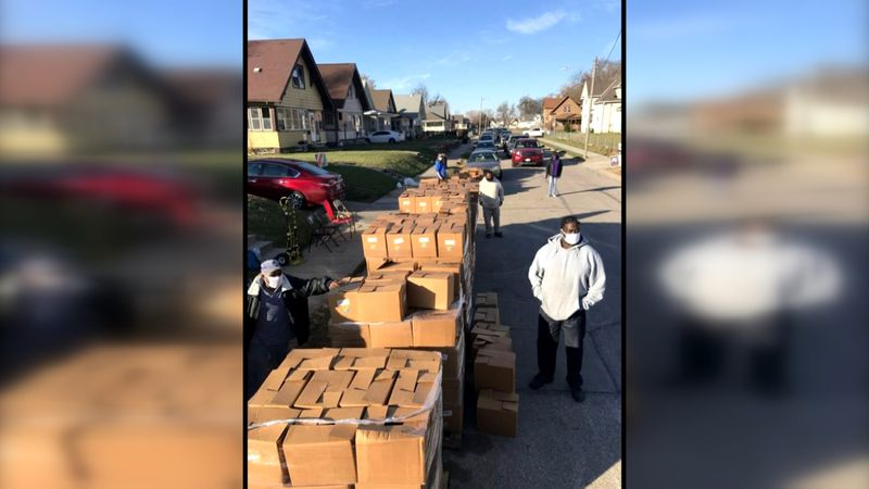 Indian Center donating 960 cases of food to organizations, people in need