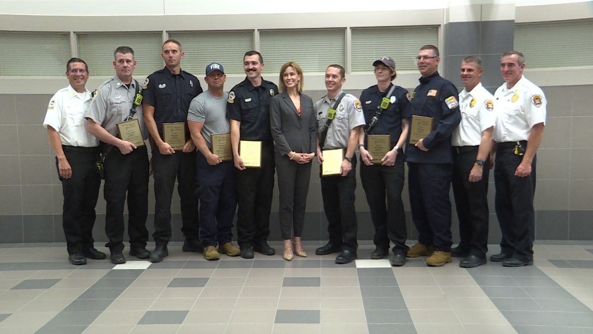 LFR members of Task Force One honored with Mayor's award