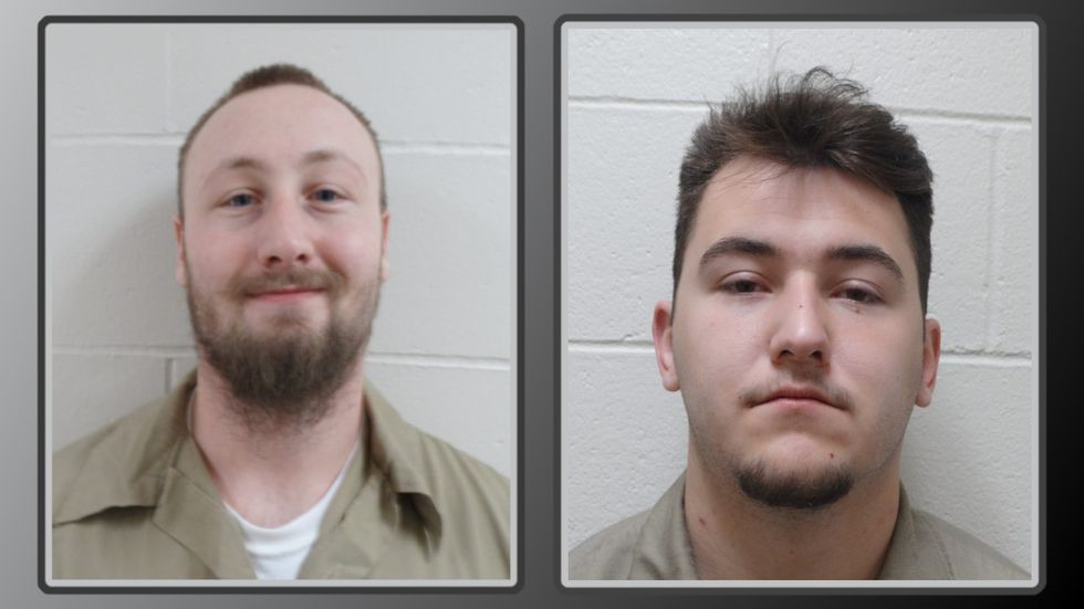 Clifford Brown and Jacob Roeder left the facility together shortly after 5 a.m. Thursday.