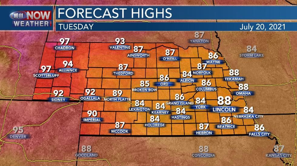 Today should be a little warmer than yesterday.