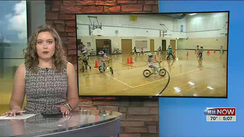 Fredstrom Elementary receives 22 strider bikes