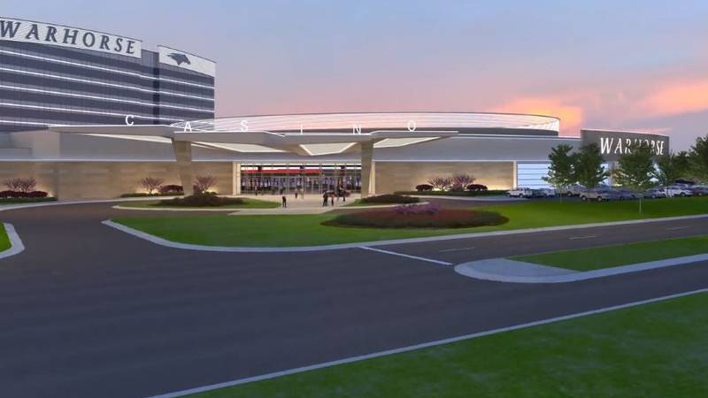 WarHorse Casino rendering