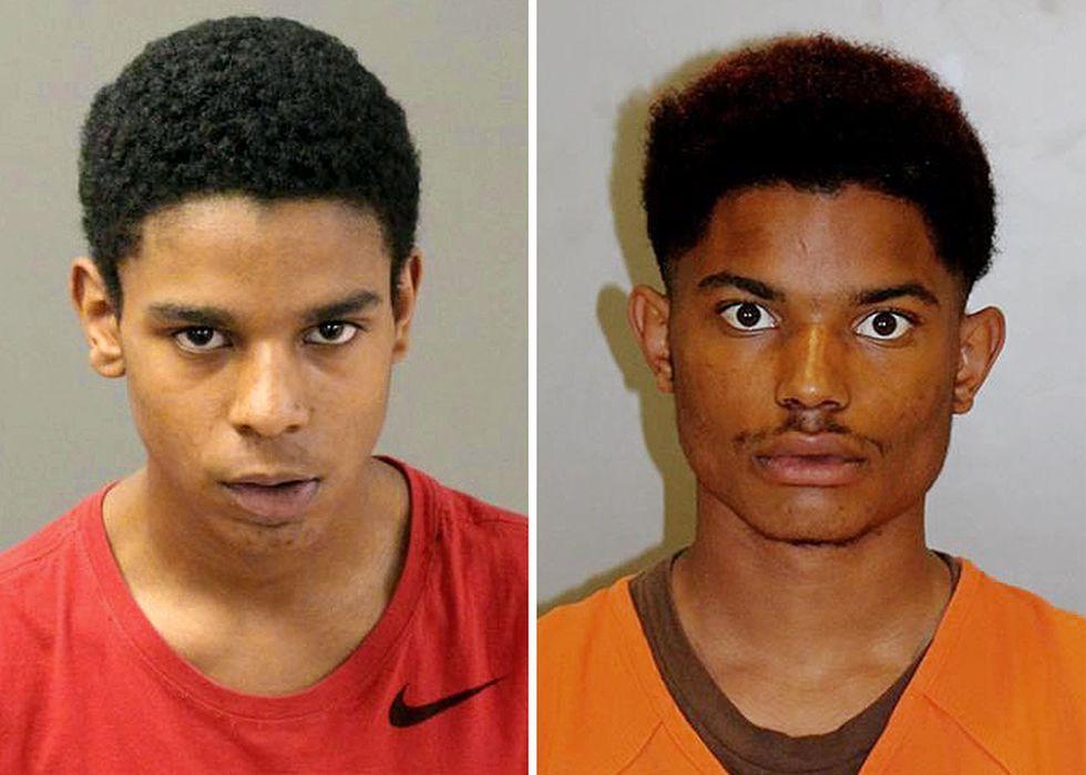 Omaha Police arrested Makhi Woolridge-Jones, left, and Brandon Woolridge-Jones on Sunday, April...