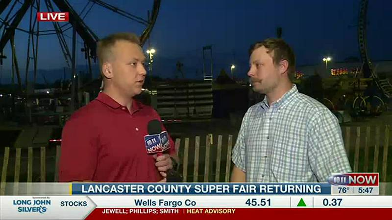 The Lancaster County Super Fair returns on July 29, 2021 after having cancelled the public...