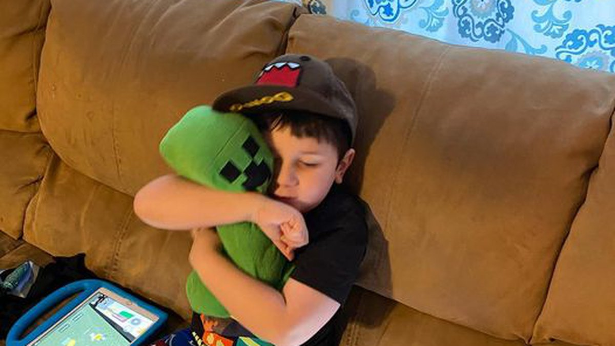 """Lincoln family """"hyper-aware of anything"""" after son with autism gets COVID-19"""