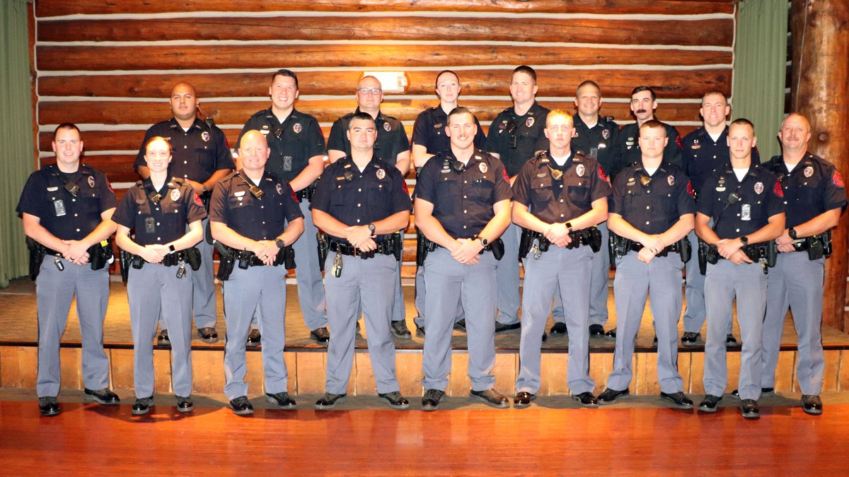 Twenty-seven Nebraska State Troopers have been honored for their efforts to remove impaired...