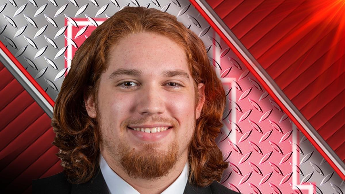 Brenden Jaimes is an offensive lineman at the University of Nebraska.